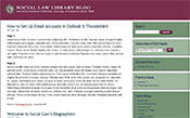 Social Law Library Blog